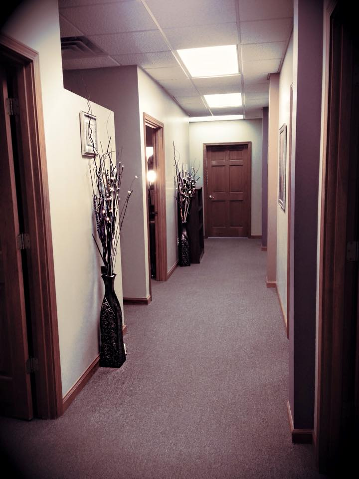 Entrance to counseling area